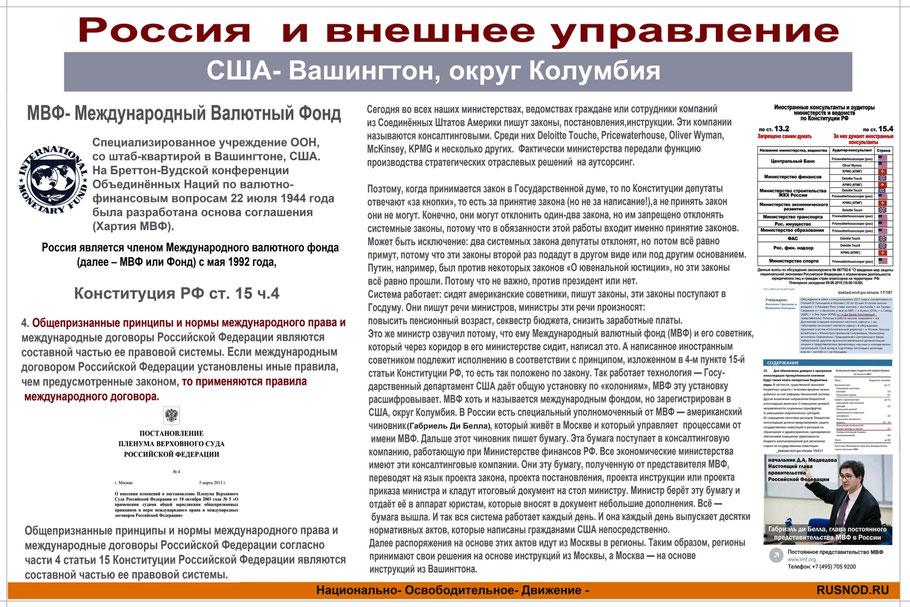 Россия и внешнее управление (фото)