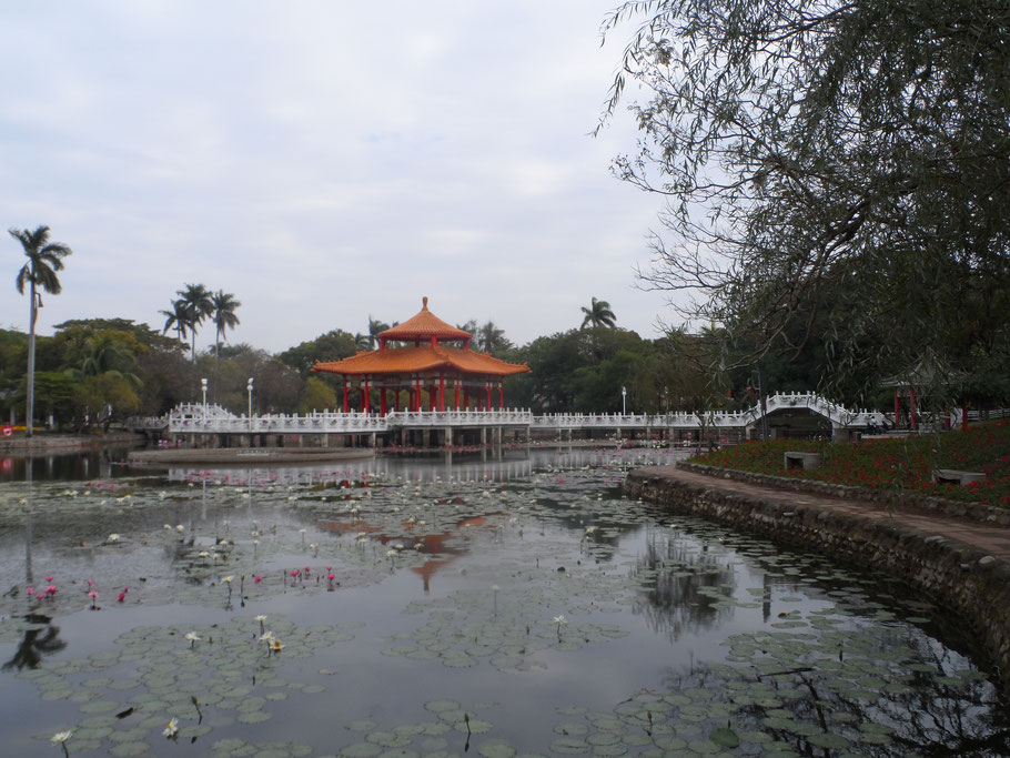 Pavillon du Tainan Park