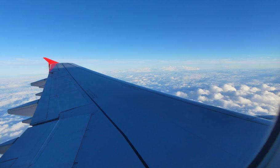 1h30 de vol relax entre Paris et Palma