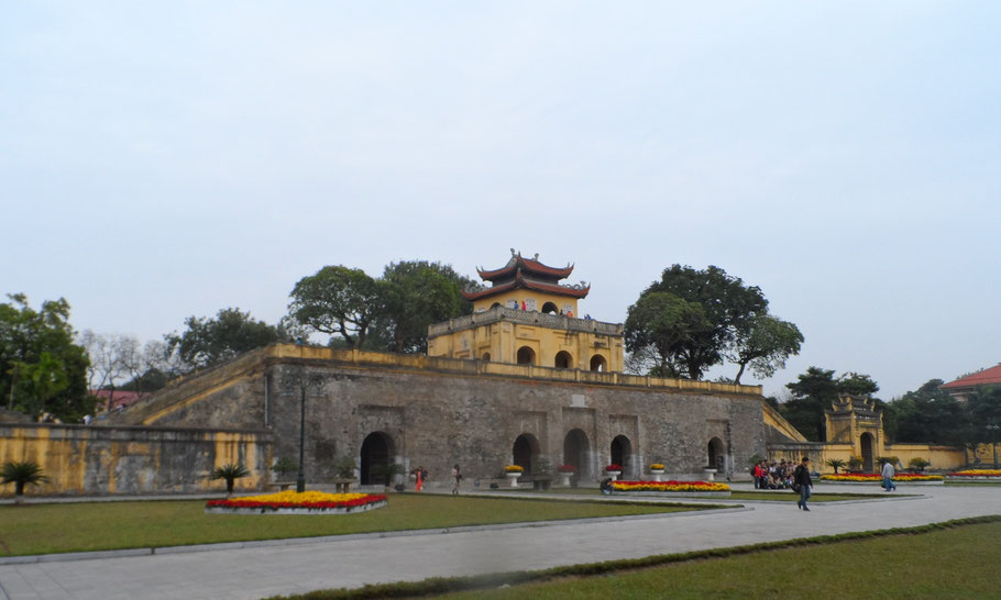 La cité impériale Thang Long, Hanoï.