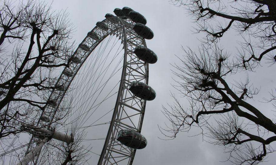 The London Eye, Londres.