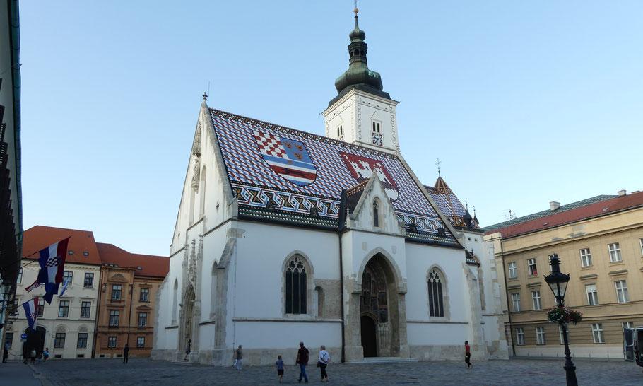 Zagreb, Croatie.