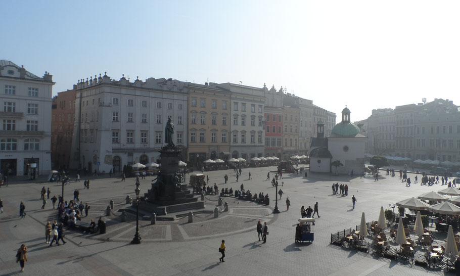 Rynek Główny, la place du marché, Cracocvie