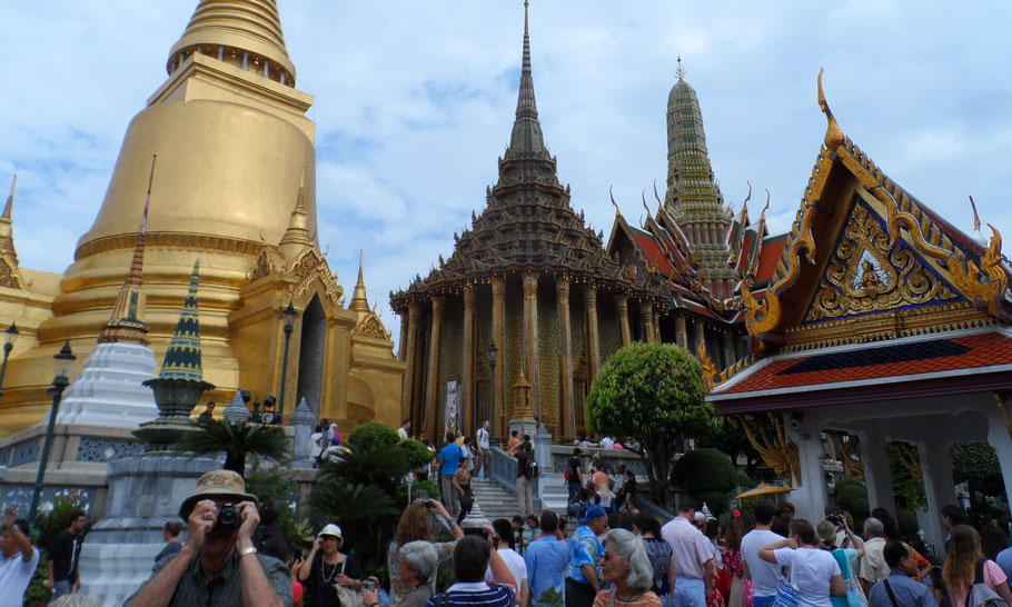 Le Grand Palais à Bangkok