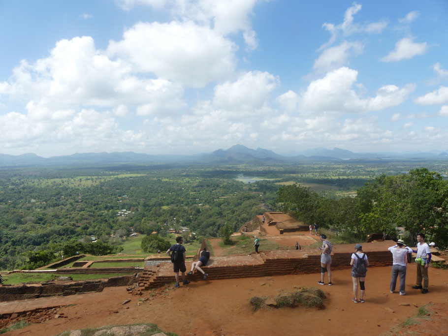 Panorama plein sud, Sigirîya