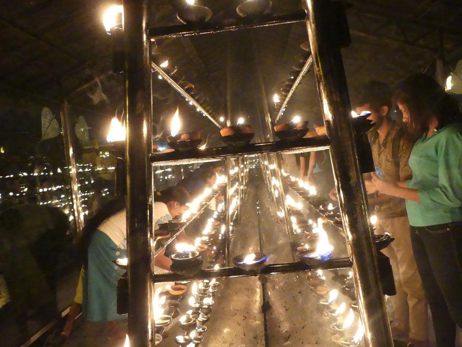 Les lampes à huile de coco scintillent de....1000 feux