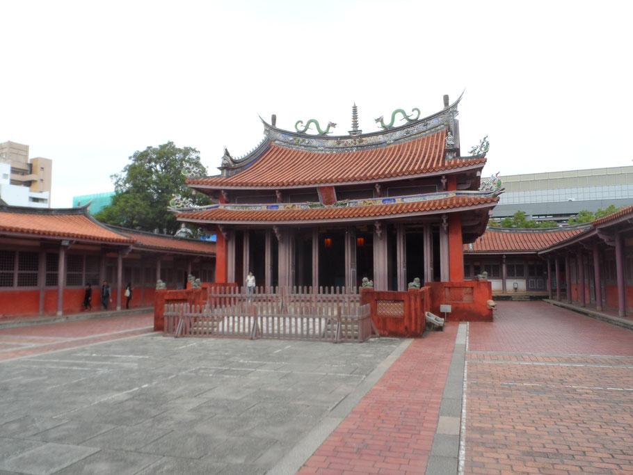 Temple de Confucius, Tainan.