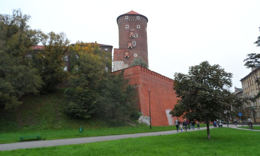 Château du Wawel, Cracovie.