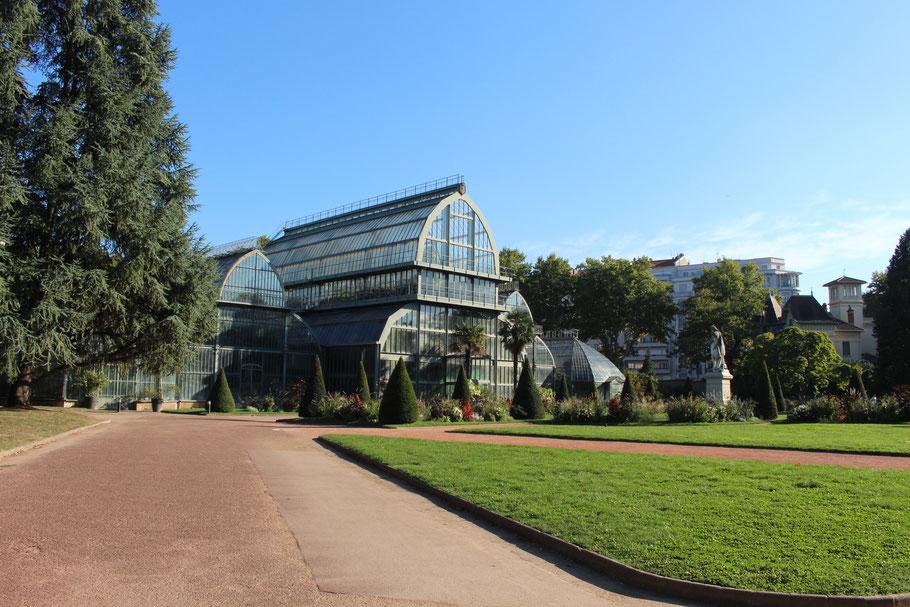 Jardin botanique, Parc de la Tête d'Or, Lyon.