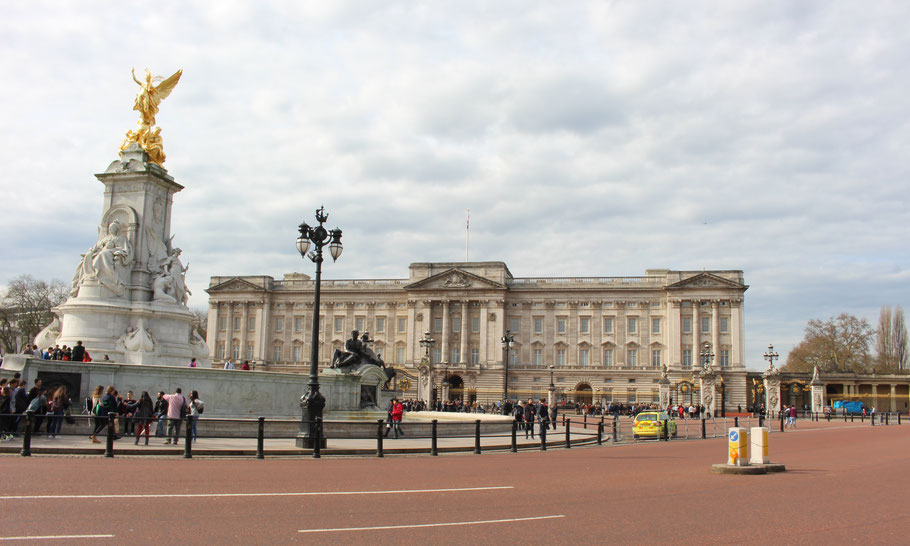 Buckingham Palace, Londres.