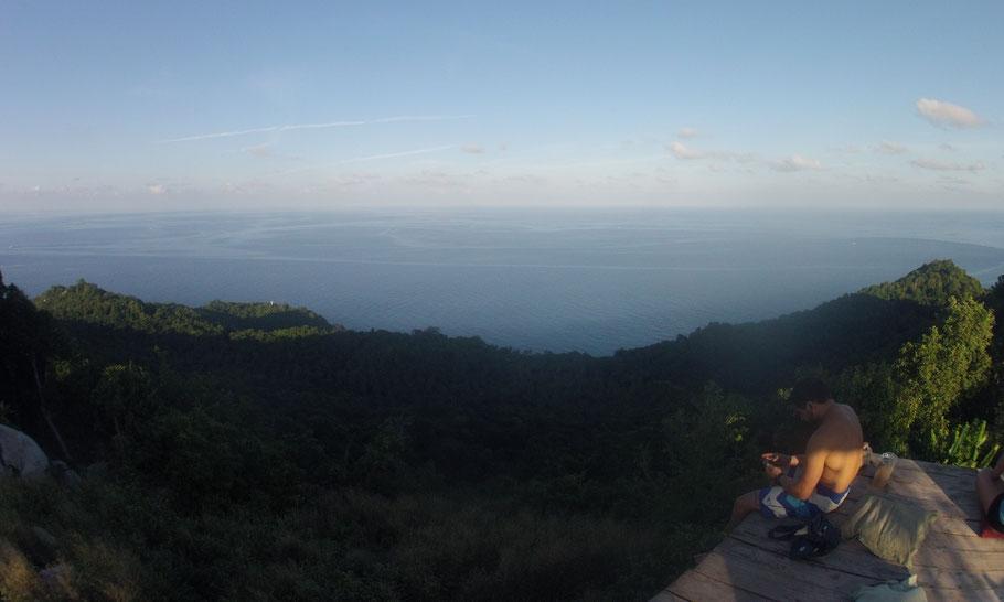 Koh Tao depuis les hauteurs
