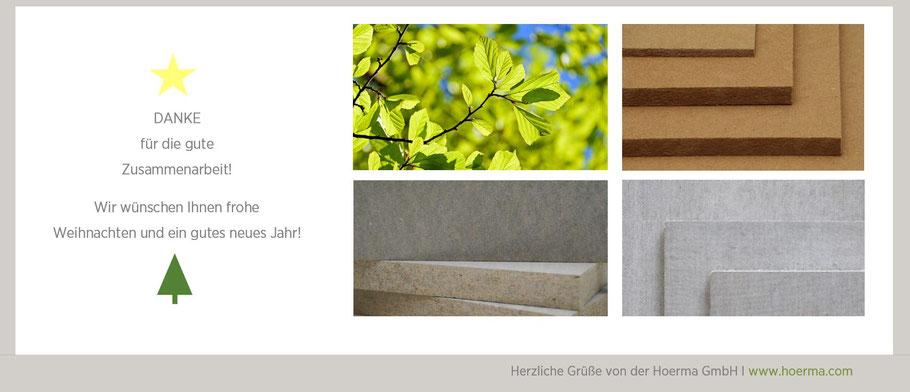 Weihnachtsgrüße vom Team der Hoerma GmbH