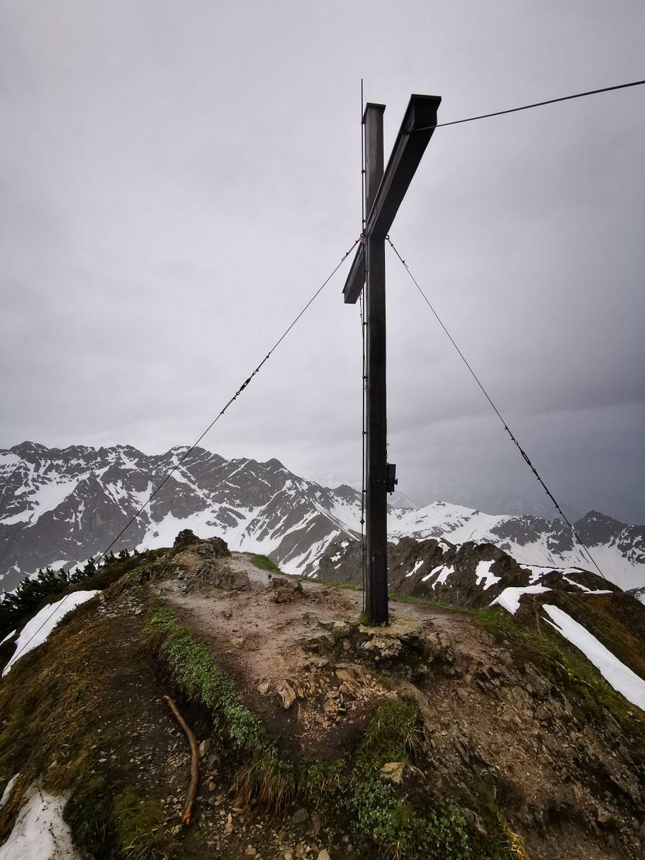Am Gipfel des Entschenkopf
