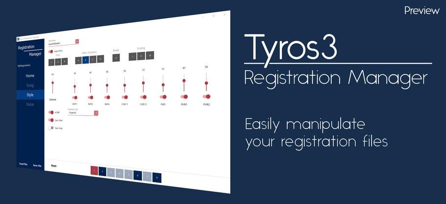Yamaha Registration Files