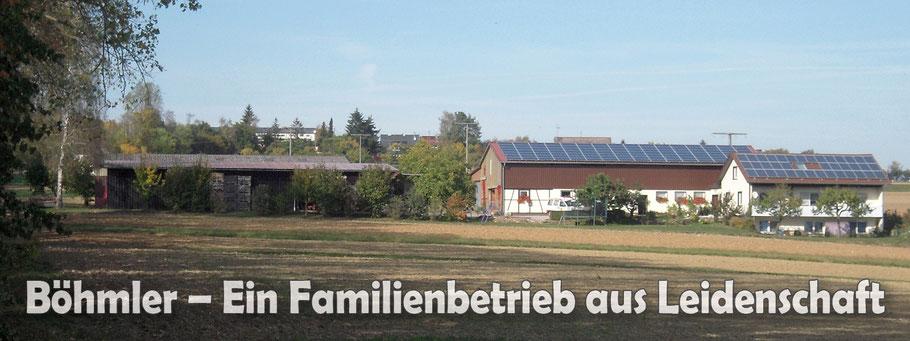 Böhmler – Ein Familienbetrieb aus Leidenschaft