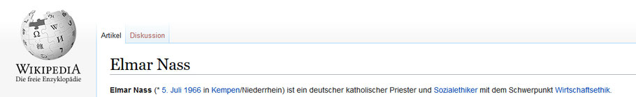 Elmar Nass auf Wiki