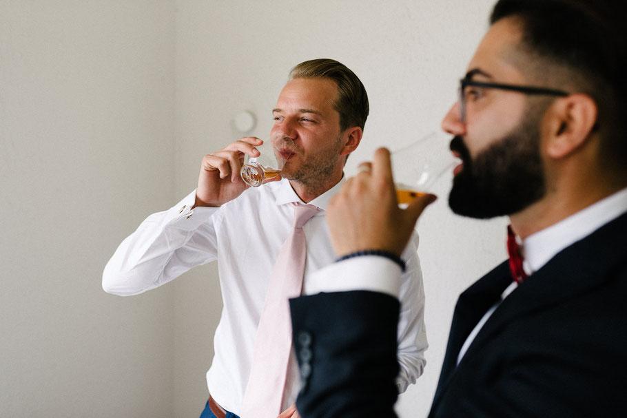 Prost Whisky Bräutigam