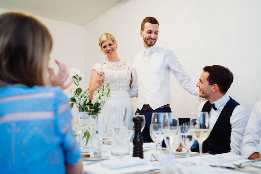 Blicke Tränen Hochzeit Trauzeugen
