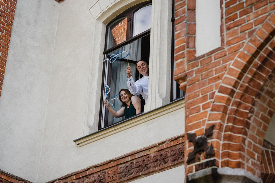 Wedeln Gäste Hochzeit Gamehl