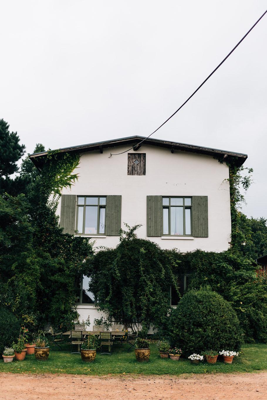 Tolle alte Häuser auf dem Gut Mönkhof