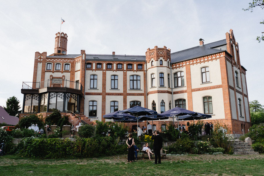 Schloss Gamehl Hinteransicht