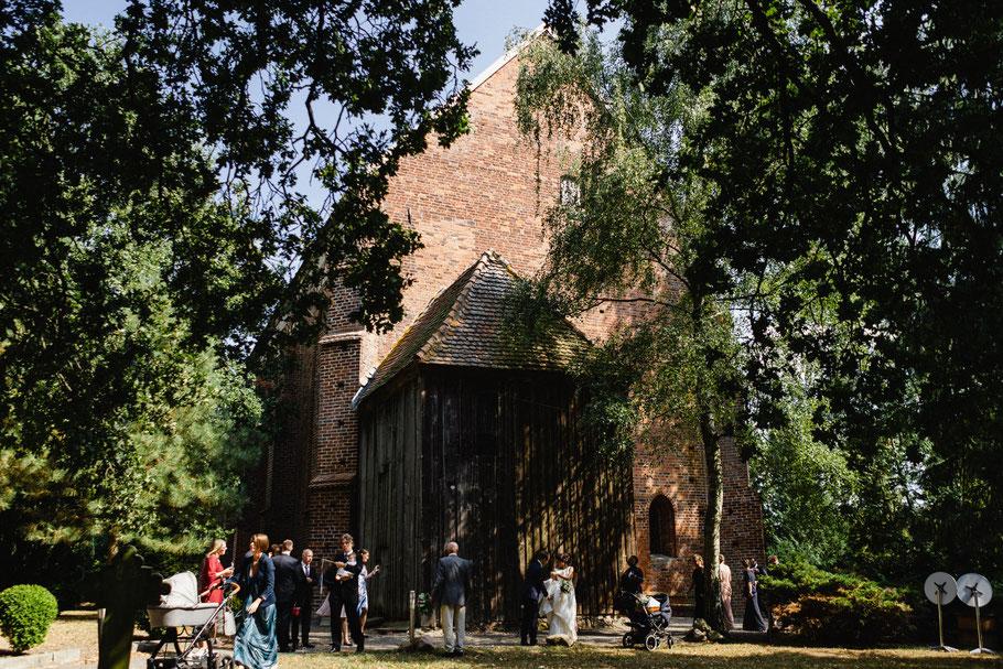 Kirche Hohen Viecheln Hochzeitsfotograf Wismar