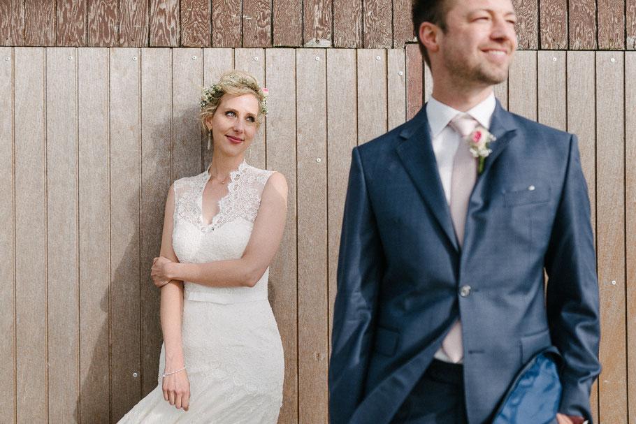 Braut Blick Strandhaus