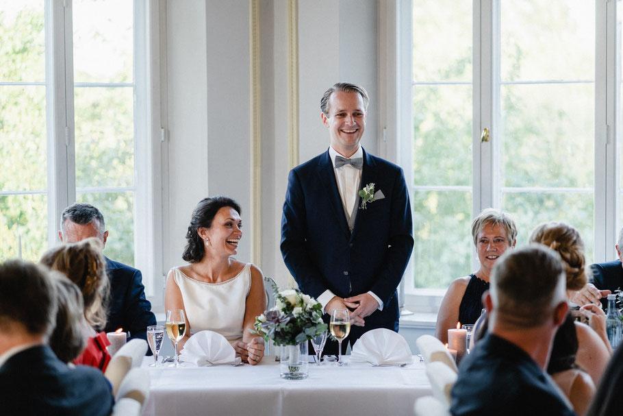 Bräutigam Rede Hochzeit