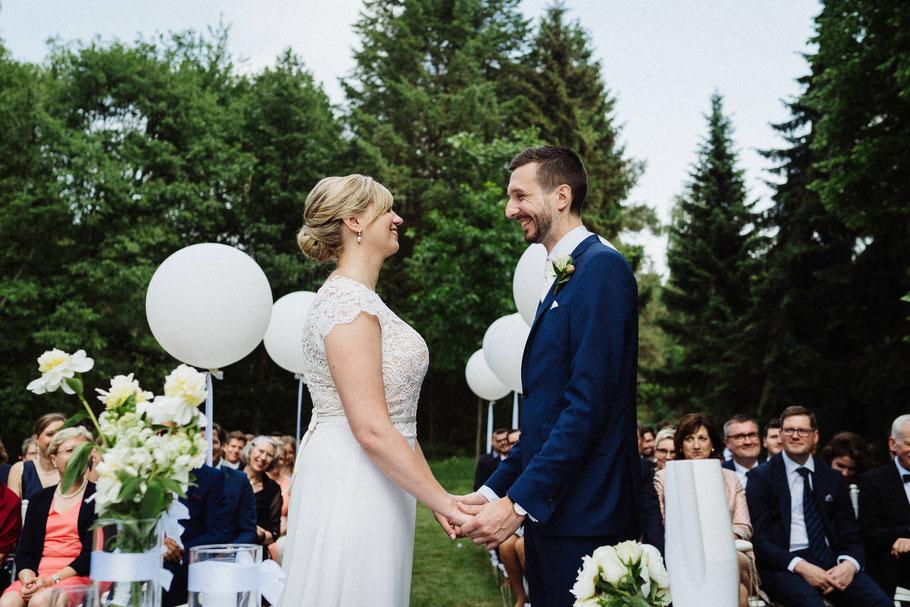 Rede zueinander Hochzeit Freude