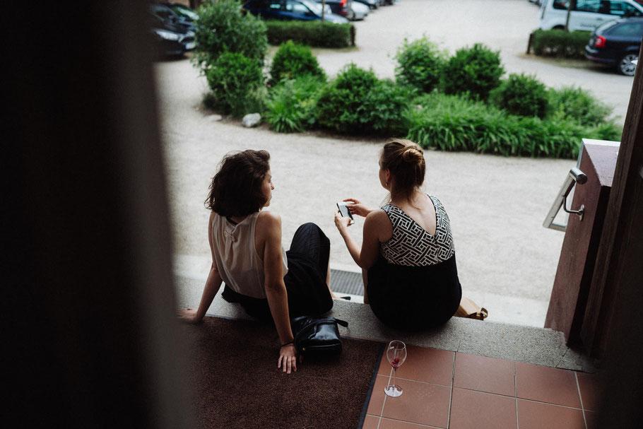 Smartphone Mölln Frauen Glas