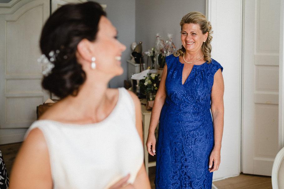 Freude Mutter Braut