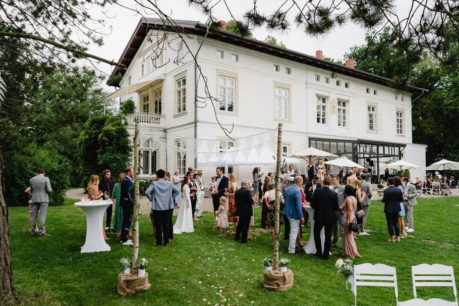 Hochzeit Villa Herrenhaus Gut Bliestorf Feier