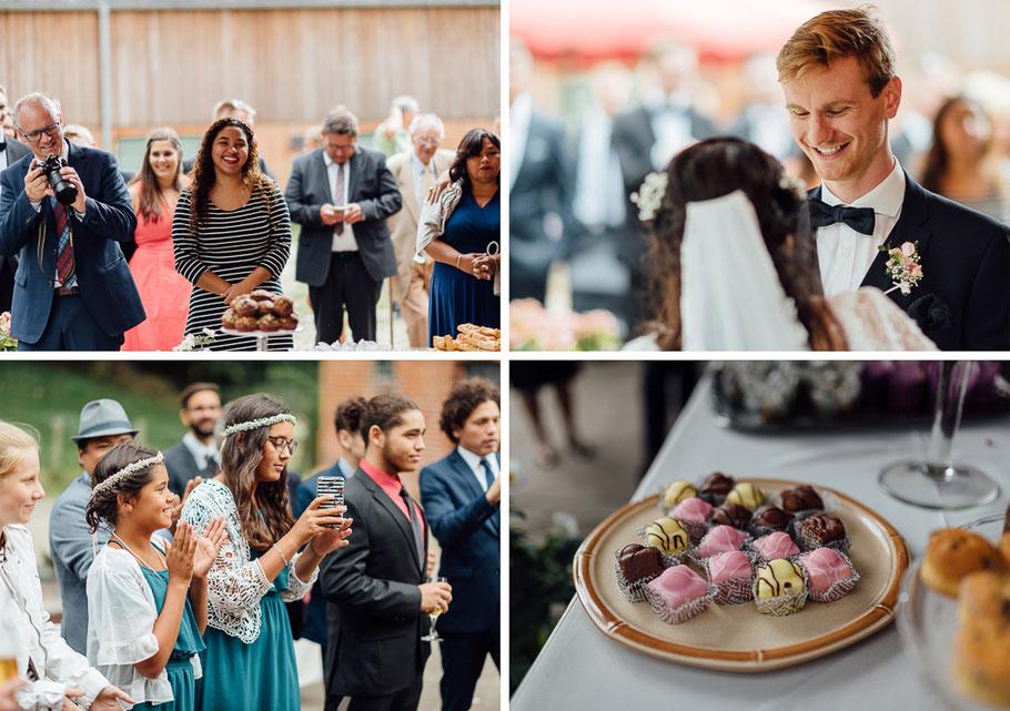 Kuchen Pralinen Hochzeit