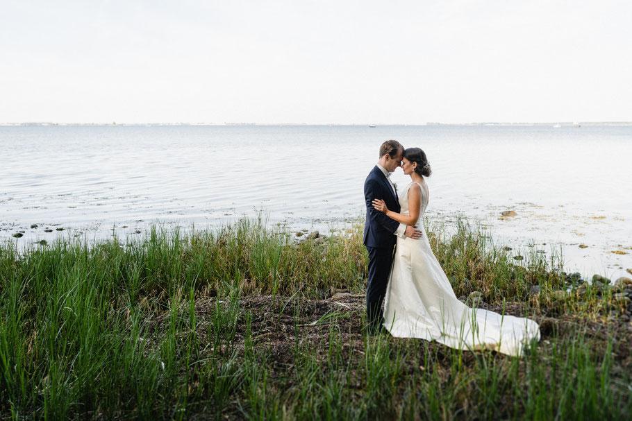 Paar Stirn Ostsee