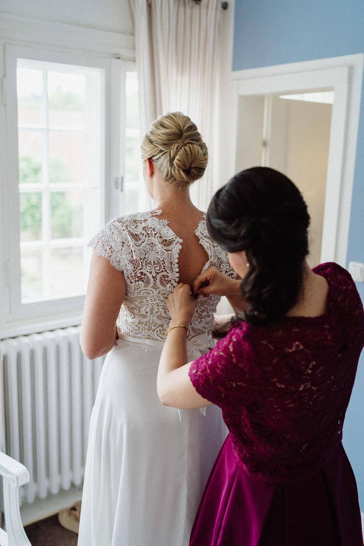 Kleid Trauzeugin Hochzeit Mölln