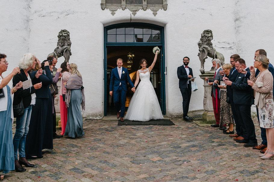 Jubel Paar Hochzeit