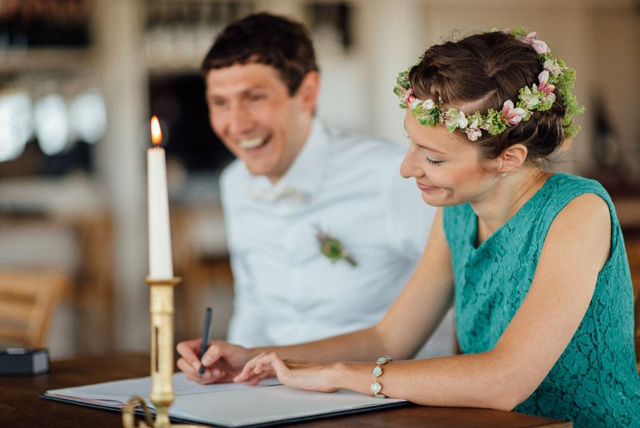 Romantische Hochzeitsbilder in St.Peter Ording