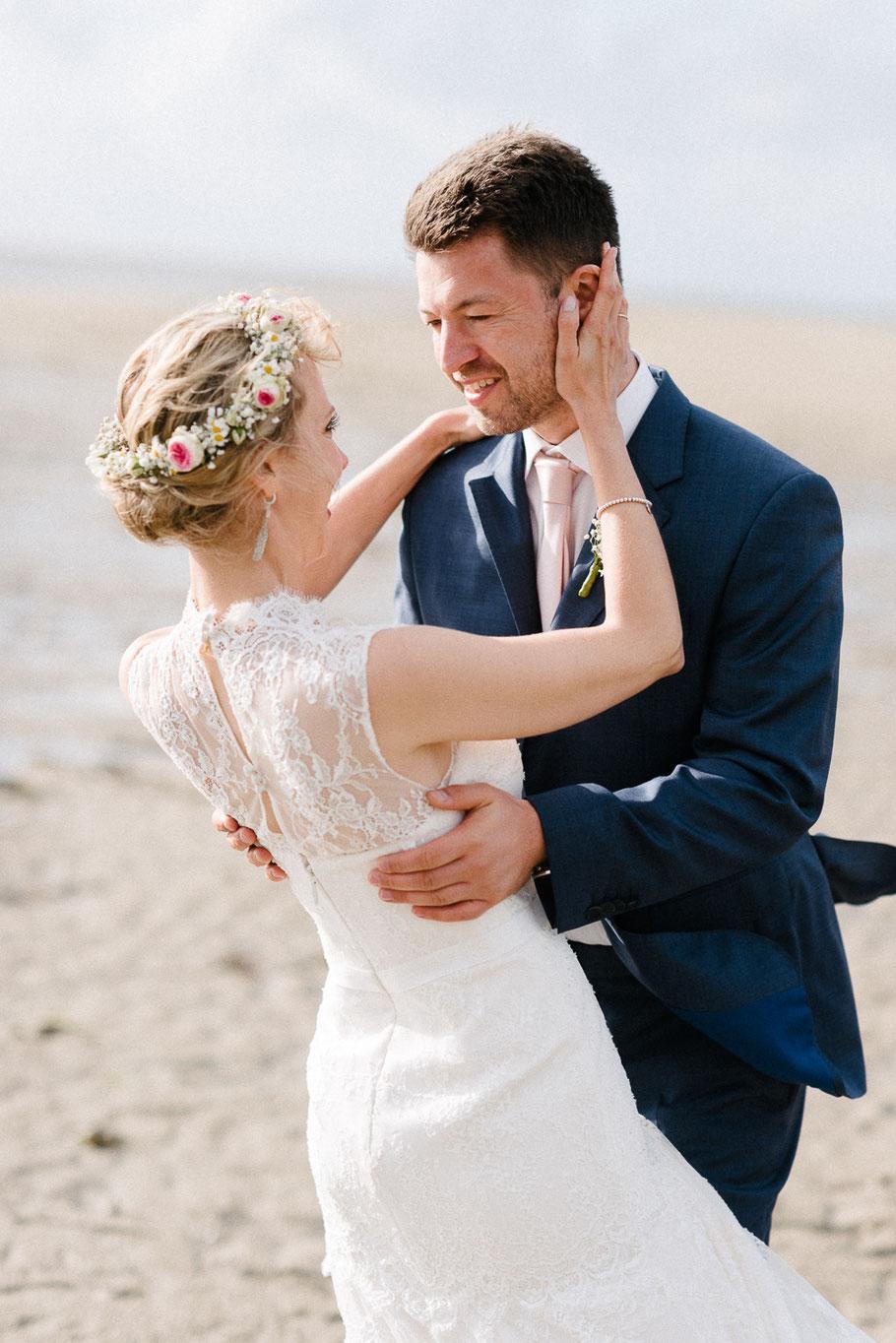 Strand Sankt Peter Mann Bräutigam Hochzeit