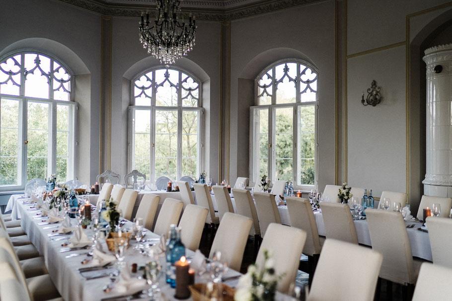 Hochzeitstafel  Schloss Gamehl