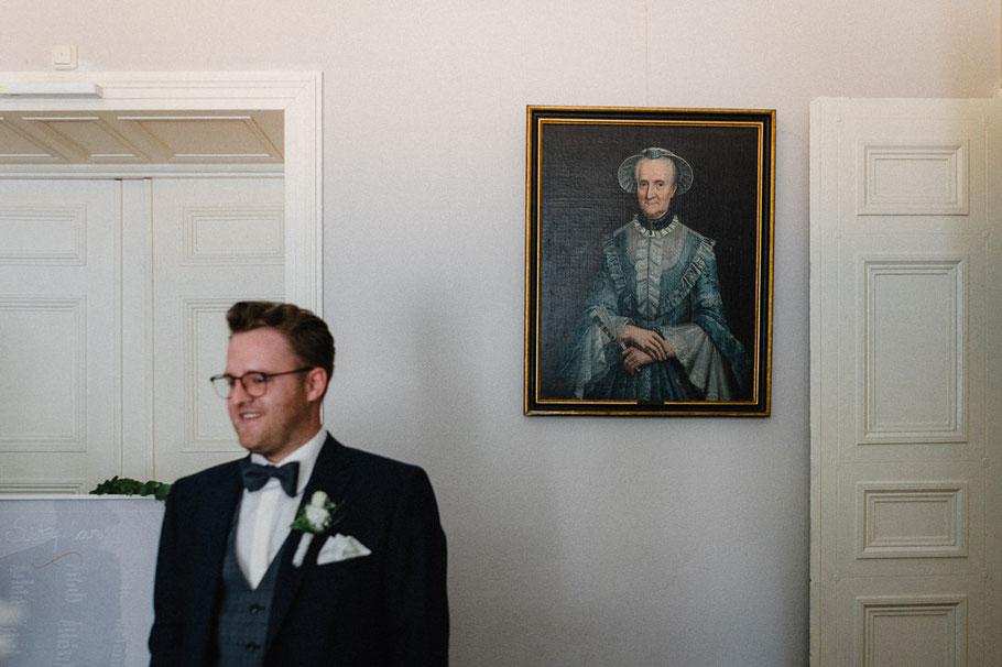 Brille Mann alter Gemälde lustig Frau Herzogin