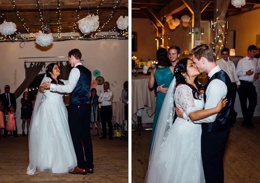 Erster Tanz Eröffnungstanz Hochzeitsfotograf