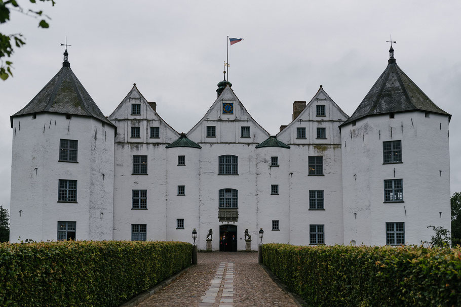 Schloss in Glücksburg The Crown Prinz Heimat