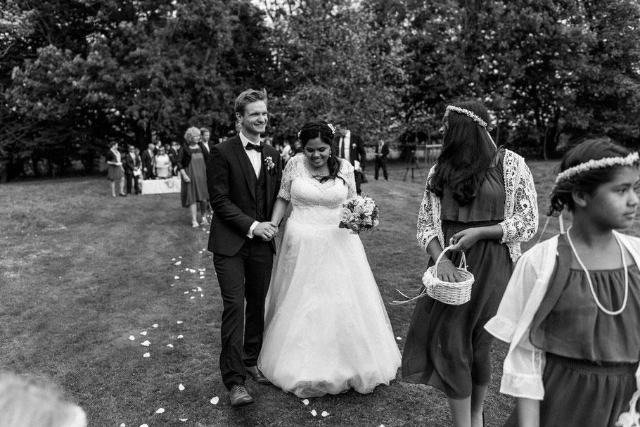 Auszug mit Kinder Hochzeit