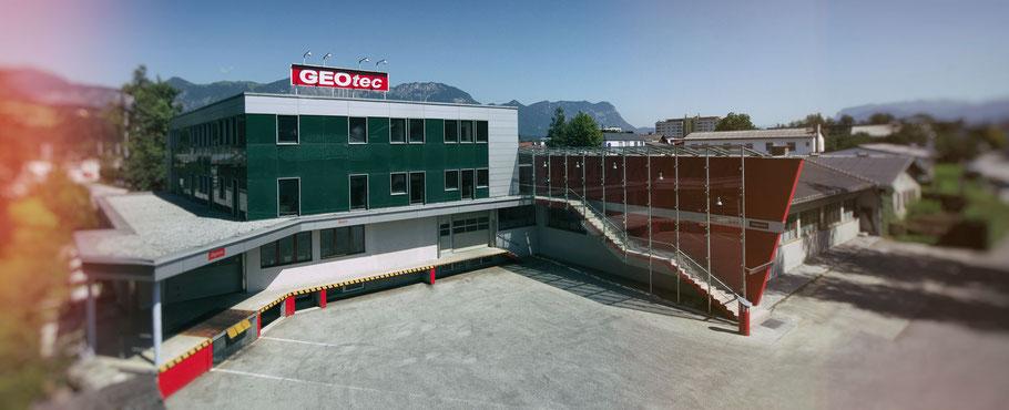 Firmengebäude GEOtec / Wörgl, Österreich