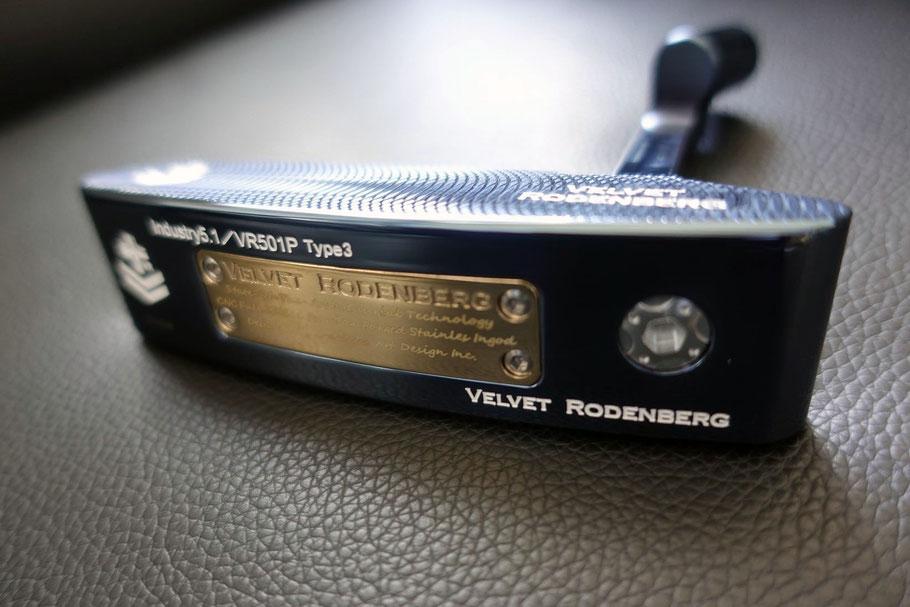 VELVET RODENBERGベルベットローデンバーグパター VR501P