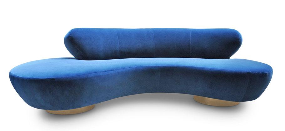 divano curvo kagan serpentine