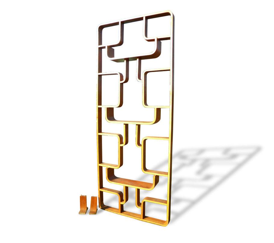 Libreria / Pannello separatore design Halabala