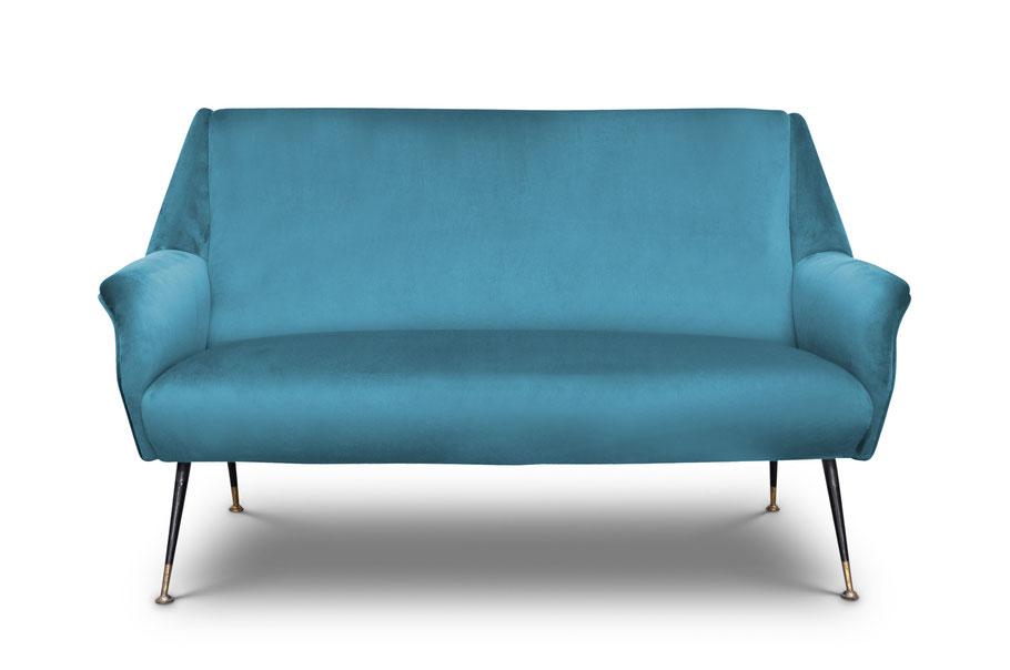 divano vintage gigi radice mid century modern