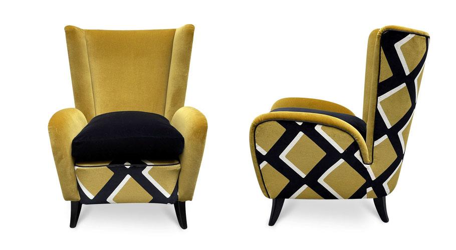 poltorne india mahdavi armchair by atelier caruso