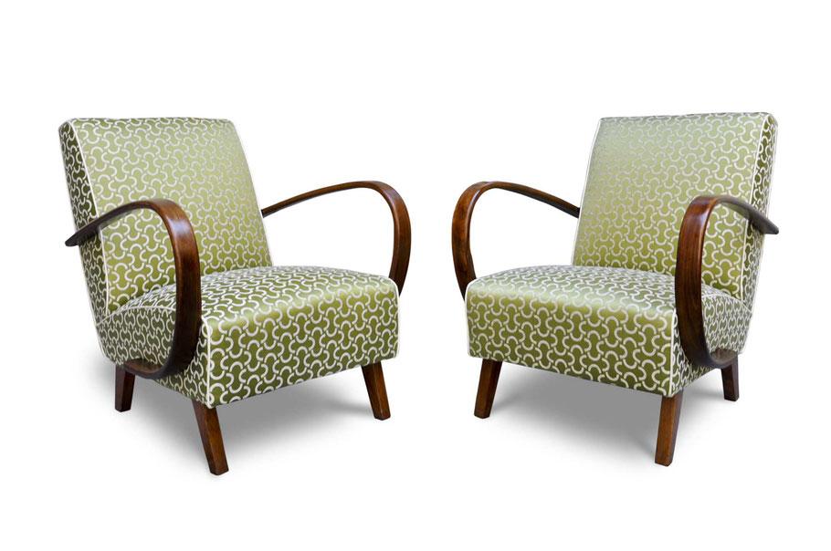 Poltrone anni 39 30 art deco in faggio curvato italian - Poltrone e sofa tessuti lavabili ...